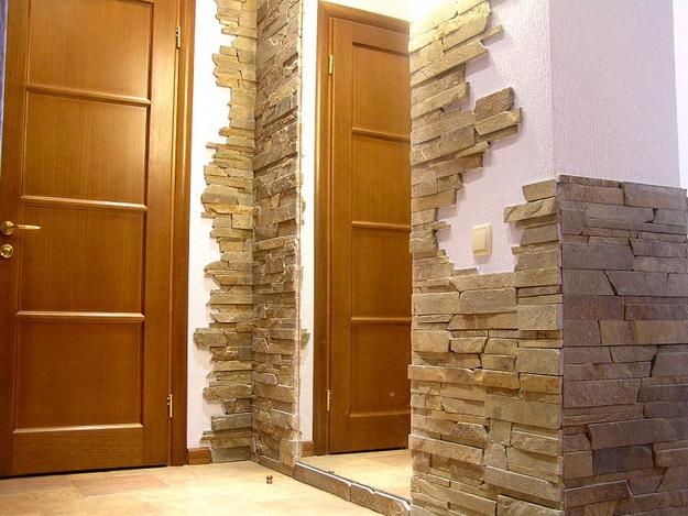 Использование декоративного камня