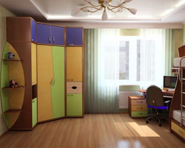 угловой шкаф Детская комната