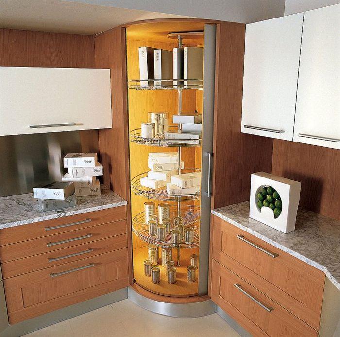 угловой шкаф Кухня