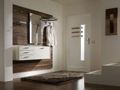 Мебель и освещение для прихожей