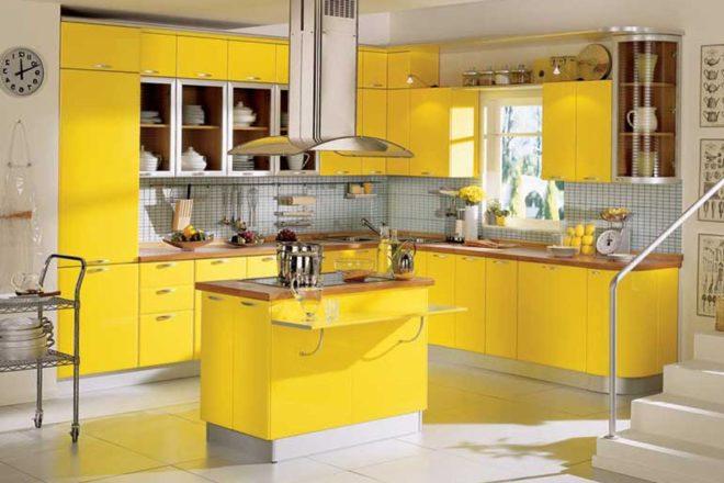 свой цвет Кухня